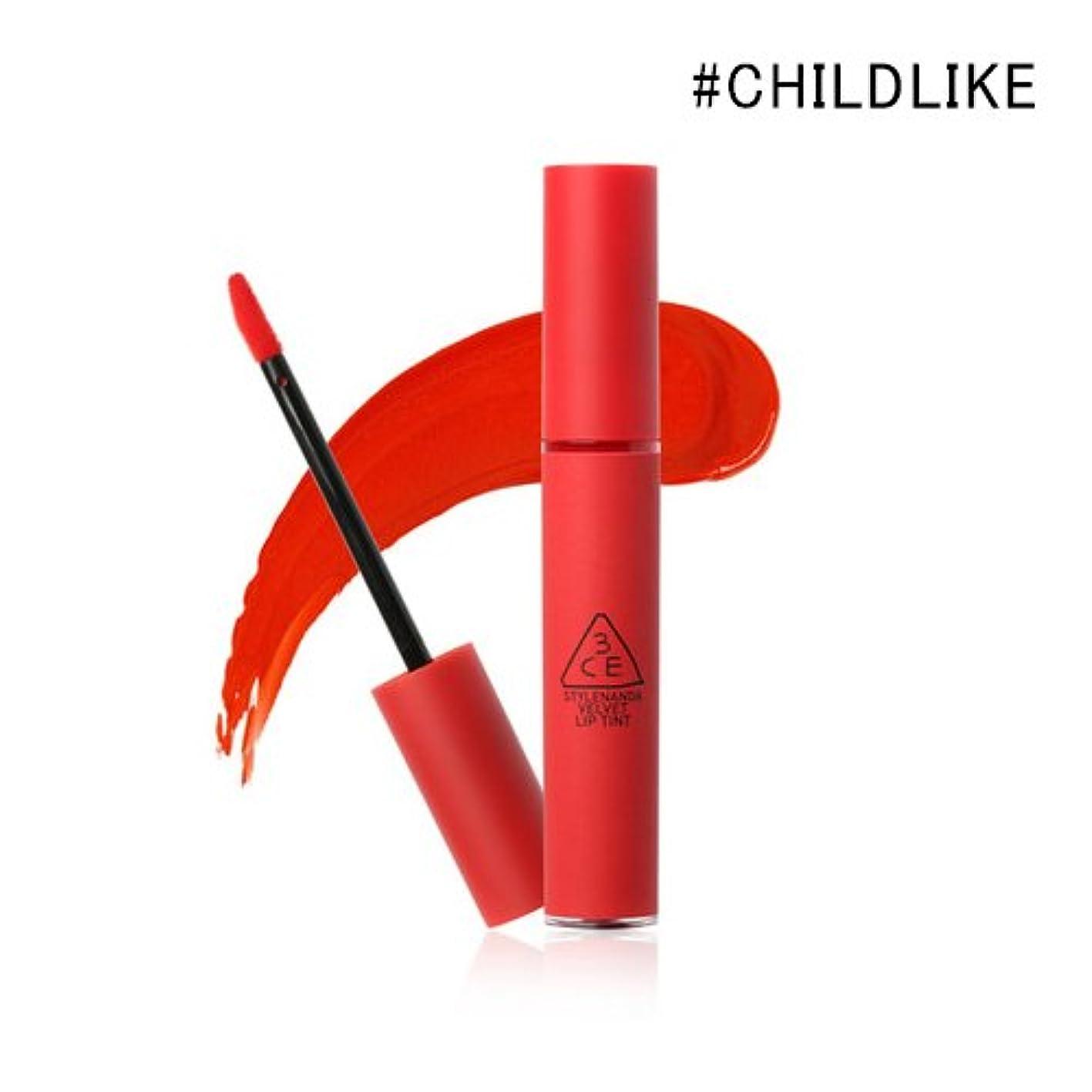 製油所ボアやさしい3CE VELVET LIP TINT / ベルベット リップティント (4.0g) (#CHILDLIKE)