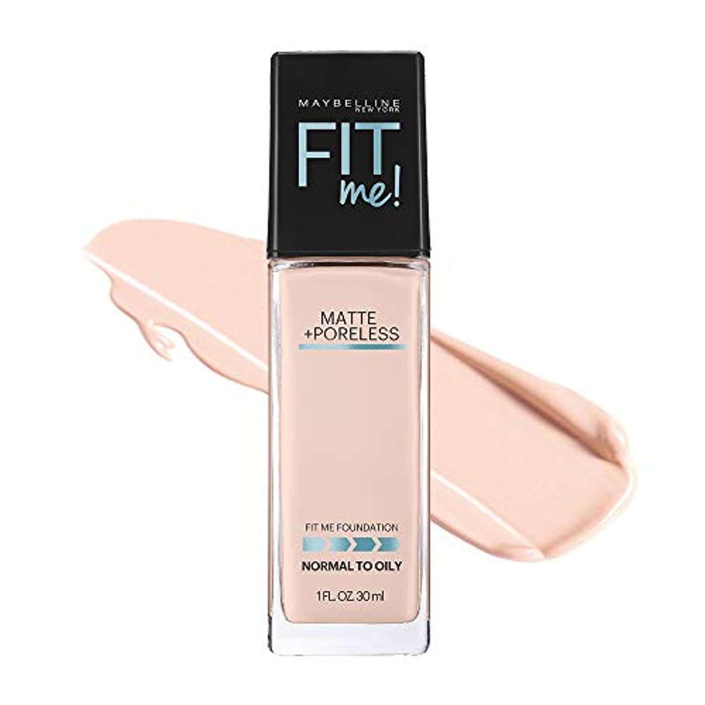 一時的加害者朝の体操をするメイベリン フィットミー リキッド ファンデーション 108 明るい肌色(ピンク系)