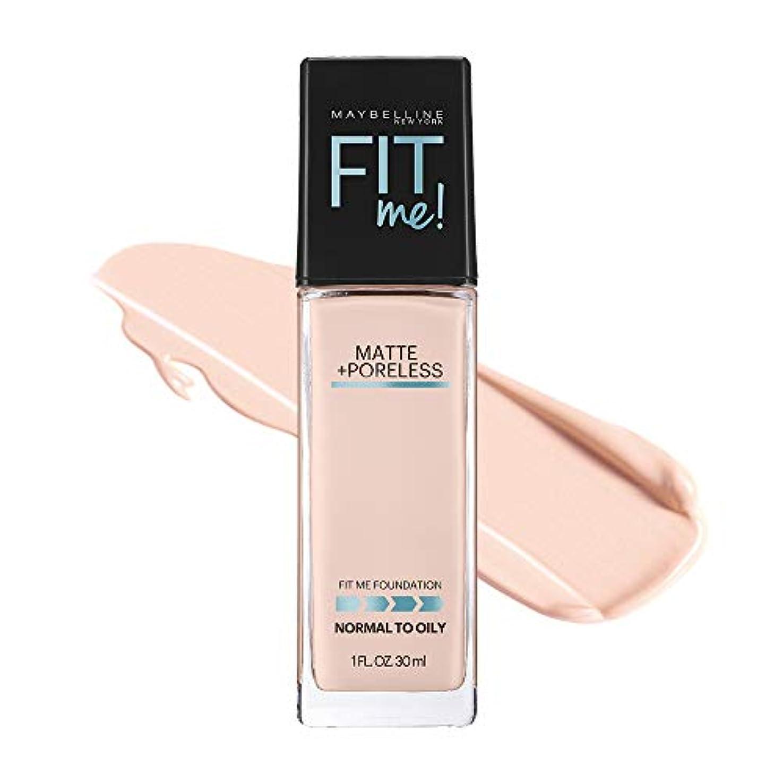 精神借りる資源メイベリン フィットミー リキッド ファンデーション 108 明るい肌色(ピンク系)
