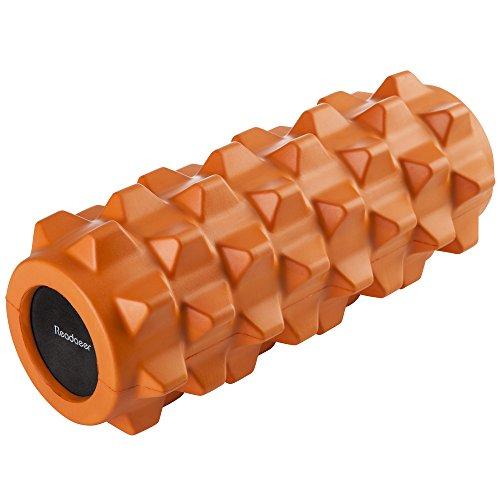 Readaeer フォームローラー トリガーポイント&筋筋膜リリース マッサージ&ストレッチローラー(オレンジ)