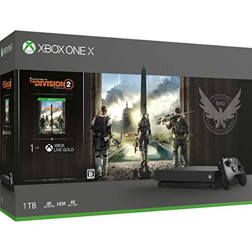 Xbox One X ディビジョン2 同梱版(CYV-00270)