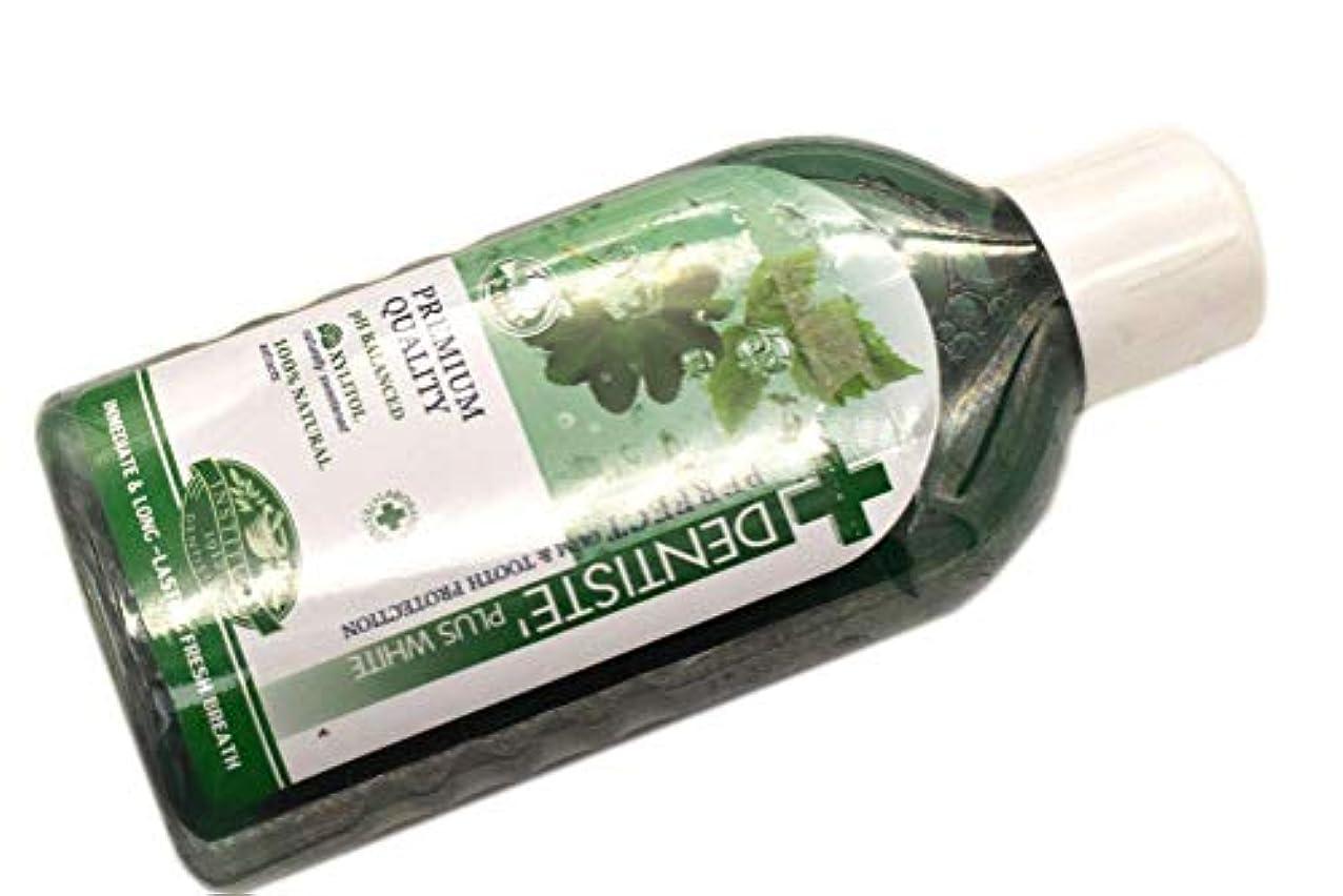 旋律的乱暴な台無しにDENTISTE' デンティス マウスウォッシュ オーラルリンス 450ml オーラルケア 洗口液 並行輸入品