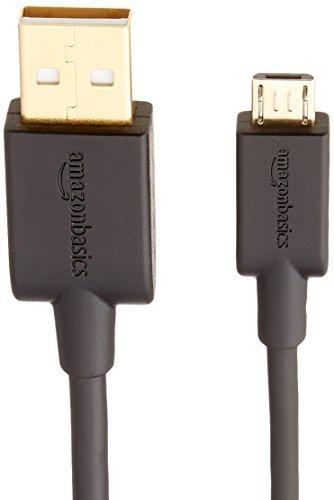 『Amazonベーシック USBケーブル 0.9m (2.0タイプAオス - マイクロBケーブル) ブラック』の4枚目の画像