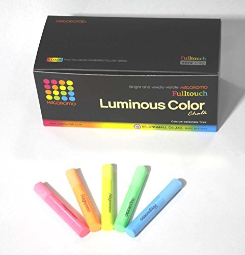 [해외]로모 FullTouch 빛 5-color Mix 초크 1 상자 (72pcs) 핑크~ 옐로우~ 블루~ 옐로우 그린~ 오렌지/Hagori FullTouch light 5-color Mix choke 1 box (72pcs) Pink~ yellow~ blue~ yellow green~ orange