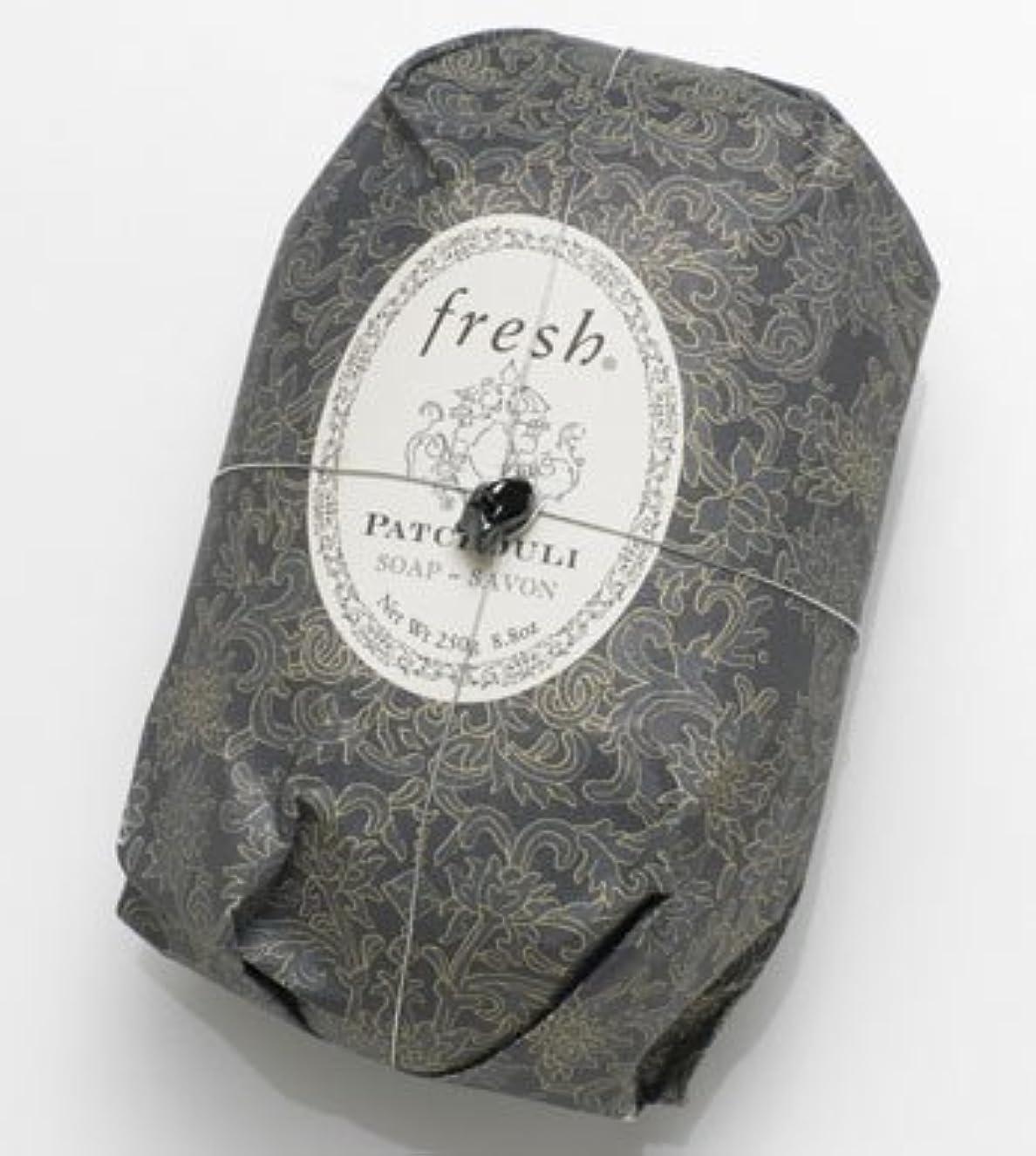 石化するフェンストリクルFresh PATCHOULI SOAP (フレッシュ パチョリ ソープ) 8.8 oz (250g) Soap (石鹸) by Fresh
