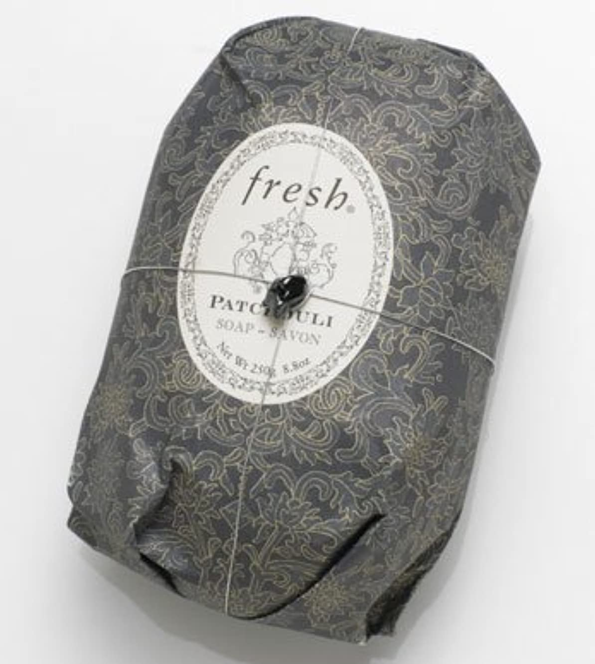 滑り台パースブラックボロウなめるFresh PATCHOULI SOAP (フレッシュ パチョリ ソープ) 8.8 oz (250g) Soap (石鹸) by Fresh