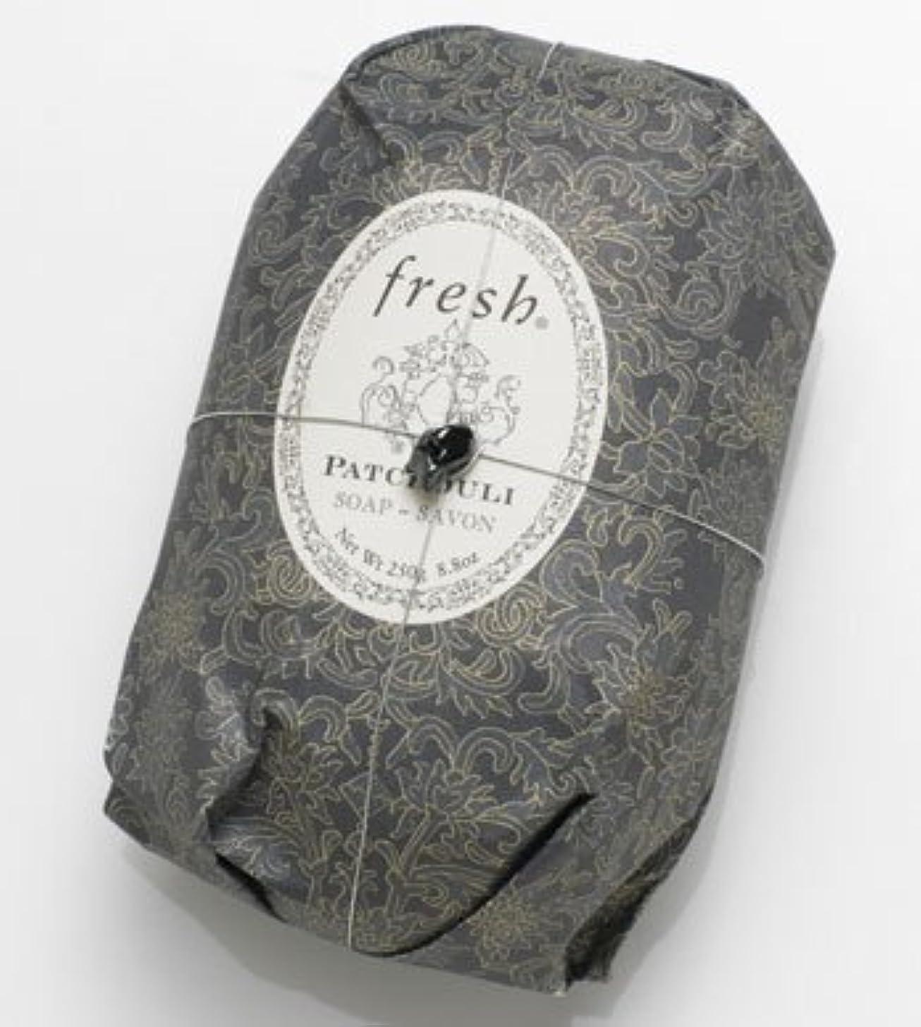 にんじん豚肉Fresh PATCHOULI SOAP (フレッシュ パチョリ ソープ) 8.8 oz (250g) Soap (石鹸) by Fresh