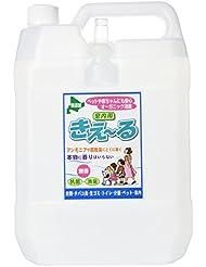 【大容量】バイオで消臭 抗菌 きえ〜る室内用 バイオ消臭液 無香 詰替用 特大サイズ 4L