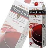 メルシャン ワインライフ 赤 パック 1800ml