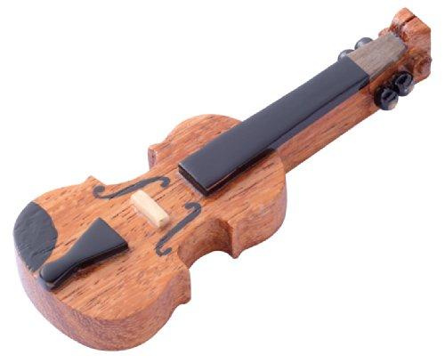 木製の箸置き バイオリン