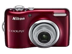 NikonデジタルカメラCOOLPIX L23 レッド L23RD
