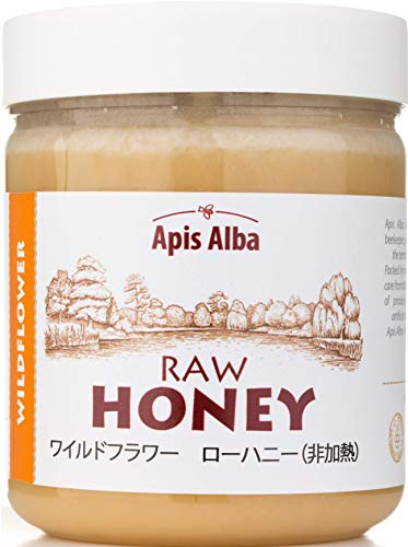 【Amazon.co.jp限定】 はちみつ 蜂蜜 ハチミツ 生 ワイルドフラワー 624g Wildflower Raw Honey 624g