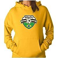 Tstars Brazil Soccer Team Fans Women Hoodie
