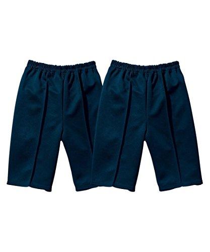 体操服 体操服パンツ2枚組 ニッセン nissen 紺 160