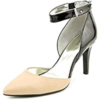 Alfani Womens Ambie Pointed Toe Ankle Strap D-orsay Pumps