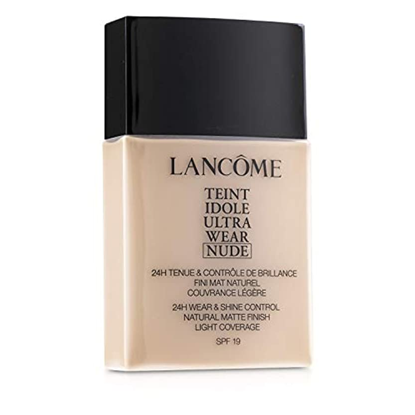 カメラ険しい電話に出るランコム Teint Idole Ultra Wear Nude Foundation SPF19 - # 02 Lys Rose 40ml/1.3oz並行輸入品