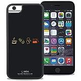 LIMIA × WAYLLY COFFEE iPhone 6/6s/7/8 ケース くっつくケース ウェイリー Qi対応 米軍MIL衝撃吸収規格 耐衝撃 最新機種 スマホケース CLS