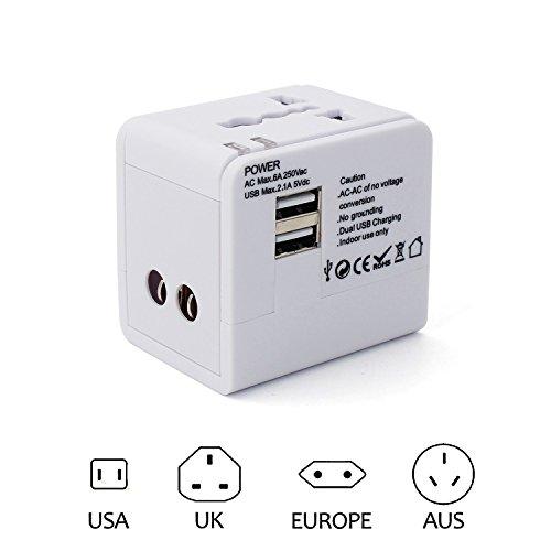 TecBillion 安全旅行充電器 海外旅行用変換プラグ ...