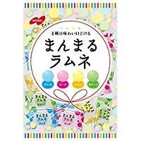 ノーベル製菓 まんまるラムネ 80g×6袋入×(2ケース)