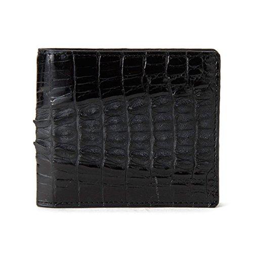 ロダニア RODANIA クロコ メンズ 二つ折り 短財布 ...