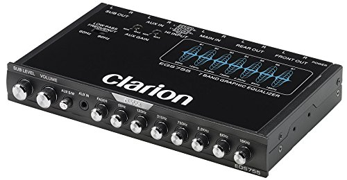 Clarion EQS755 Car Equalizer by Clarion