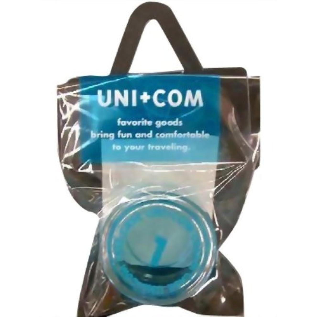 平らなレバー植物のユニコム クリームケース 10g ブルー