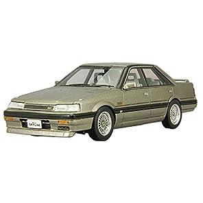 ベルテンポ CAM 1/43 日産 スカイライン 4ドアハードトップ GTパサージュ ツインカム24Vターボ 1987年 BBSホイール仕様 グレイッシュブラウン 完成品