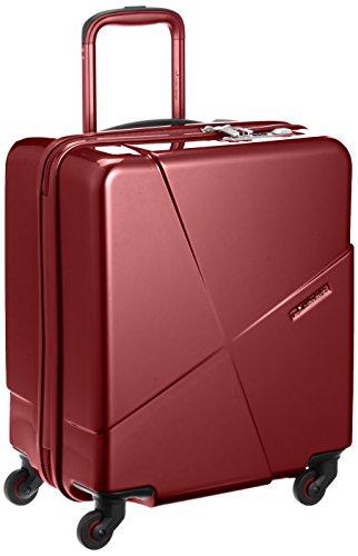 [ヒデオワカマツ] スーツケース マックスキャビン2 ポリカーボネート100% 容量42L 縦サイズ50cm 重量3kg 85-76173 3 ワイン ワイン