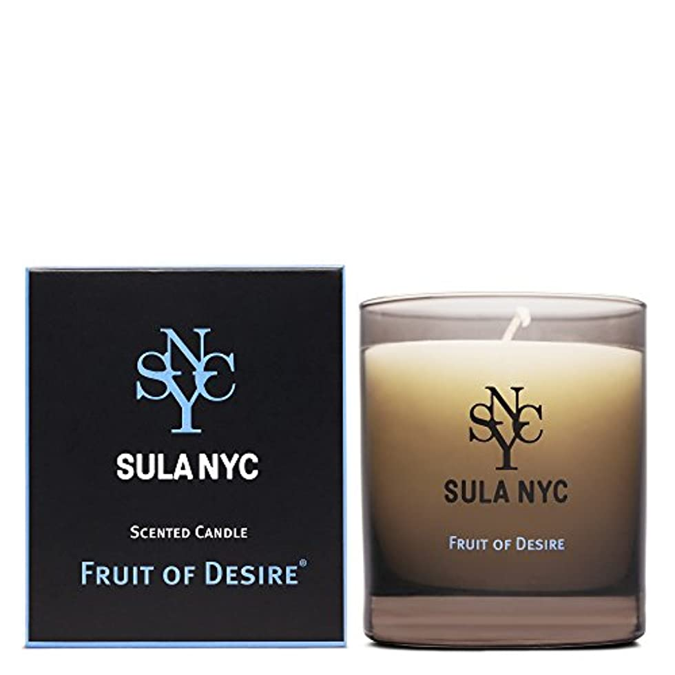 眩惑する和解する西部SULA NYC SCENTED CANDLE FRIT OF DESIRE スーラNYC センティッドキャンドル フルーツ?オブ?ディザイアー