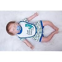 Alive Babies Boy with Sleeping Eyes 20インチRebornベビー人形Lifelike新生児おもちゃRealistic Reborn人形キッズ誕生日クリスマスギフト