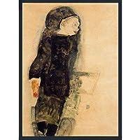 エゴンシーレ ポスター インテリア 絵画 アート 美術 美術館
