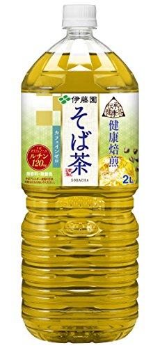 伊藤園 伝承の健康茶 そば茶 2L×10本
