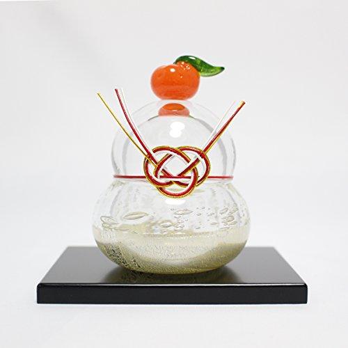 [해외]유리 거울 떡 (M) glass calico 유리 옥양목 수제 유리 아트 화장품 상자인가 오브제 장식물 설날/Glass Mirror Cake (M) glass calico Glass Carico Handmade Glass Art Object with Cosmetic Box Object Ornament New Year