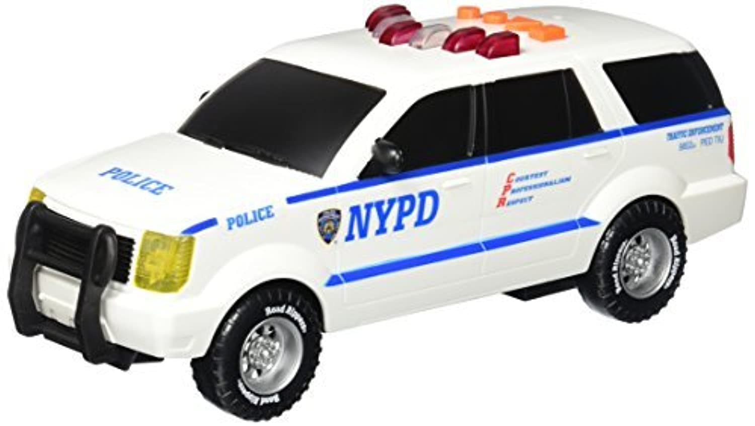 Daron NYPD Motorized SUV with Light and Sound [並行輸入品]