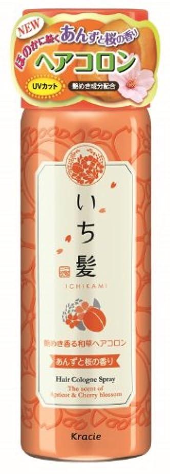 憎しみキャベツ不健全いち髪 艶めき香る和草ヘアコロン あんずと桜の香り 80g