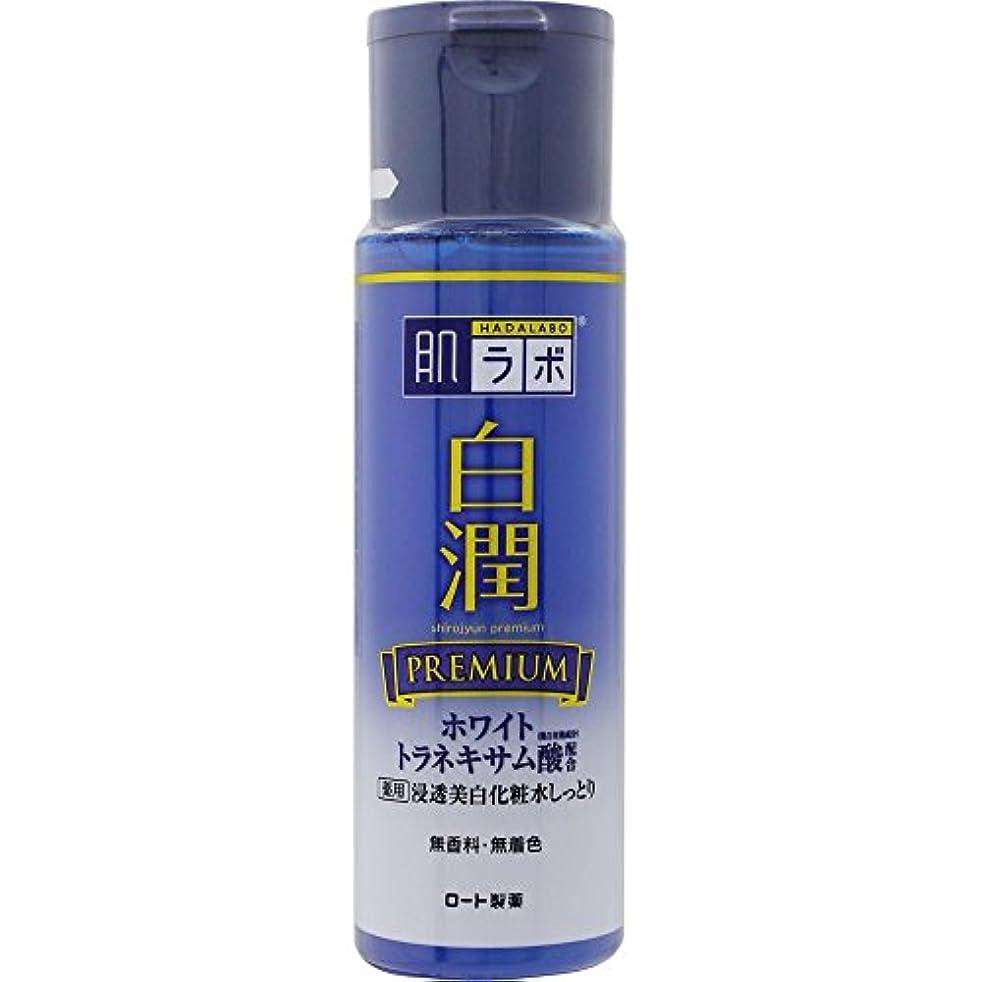 禁じるソケットに勝る肌ラボ 白潤プレミアム 薬用浸透美白化粧水しっとり 170mL (医薬部外品)