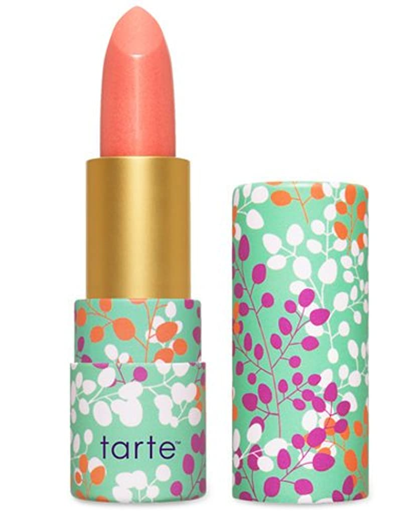 ライセンス喪ちらつきTarte Amazonian Butter Lipstick ターテ アマゾニアン バターリップステック coral blossom  [並行輸入品]