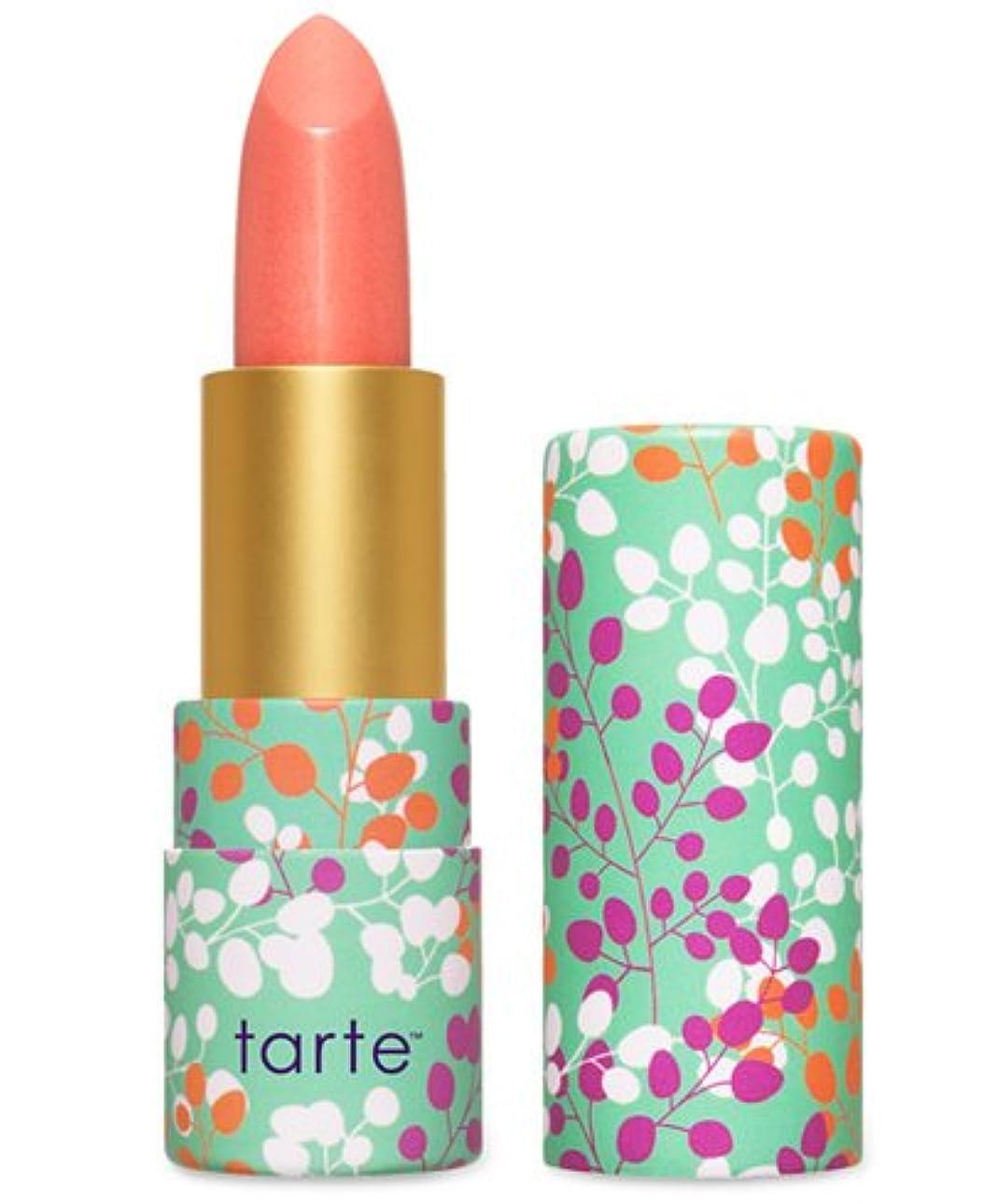 愚か可動式不器用Tarte Amazonian Butter Lipstick ターテ アマゾニアン バターリップステック coral blossom  [並行輸入品]