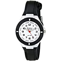 Armitron Sport Women's 25/6416BLK Easy To Read Dial Black Resin Strap Watch