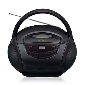 TDK LoR ポータブルCDラジオ ブラック SP-CD8211BK