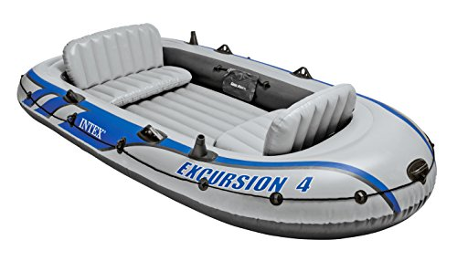INTEX(インテックス) ボート エクスクルージョン 4SET 315×165×43cm 68324 オール・ポンプ付属 [日本正規品]