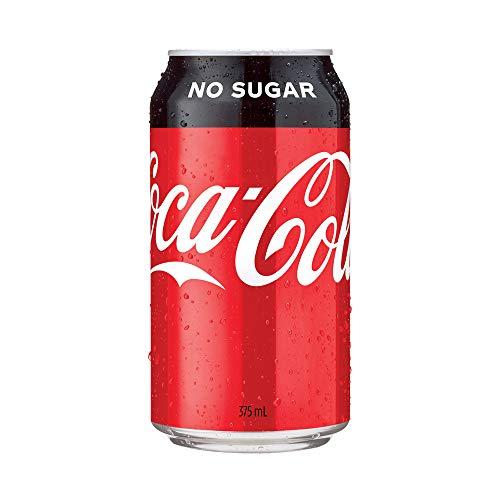 Coca-Cola No Sugar Soft Drink Multipack Cans 10 x 375 mL