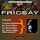 Symphonies Nos 95/98/100 RIAS/ Fricsay ( 09/04 by Fricsay