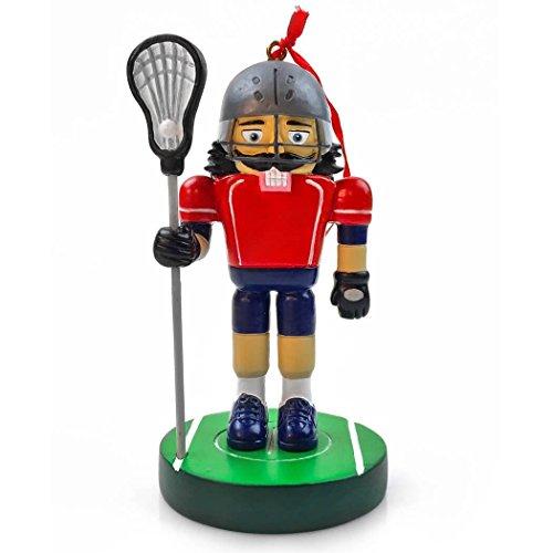 ラクロスオスNutcracker樹脂クリスマスオーナメント|ラクロスOrnaments by Chalktalkスポーツ