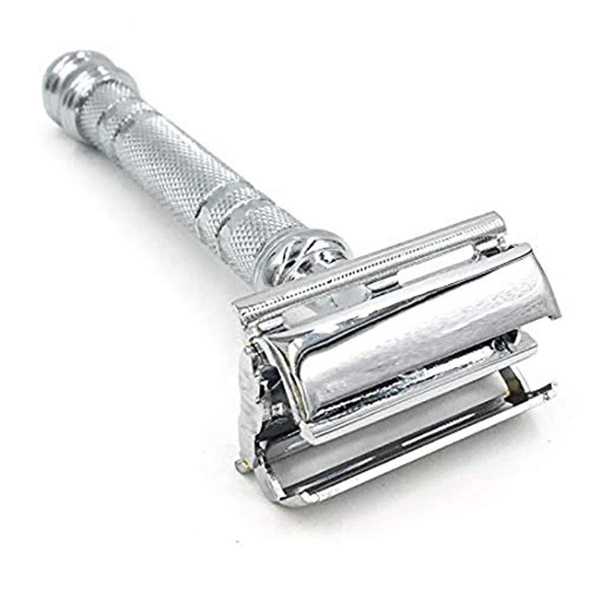 虚弱見分ける偏差Parker 66R Butterfly Open Double Edge Safety Razor - Super Heavyweight - Brand New for 2016 by Parker Safety Razor