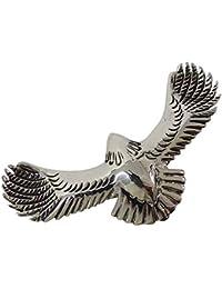 0001PPP/イーグルペンダント(1)/鳥?動物ネックレスシルバー925銀【メイン】