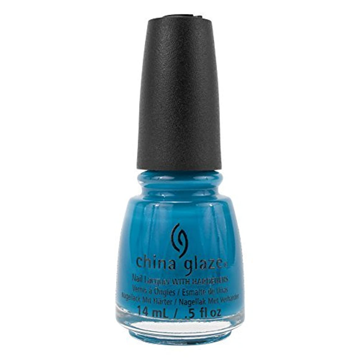 仕事赤組み込むChina Glaze Nail Polish-License & Registration Pls 82381 by China Glaze [並行輸入品]