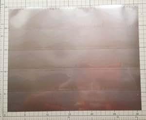 磁場吸収シート :サイズ:30cm x 23.5cm エコロガ製ALL-IN-ONE 電磁波エプロン用MS5000M 胸用シールドシート