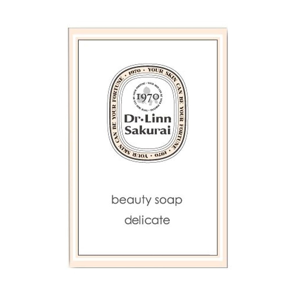 ドクターリンサクライ 洗顔石鹸 ビューティソープ デリケート (90g)