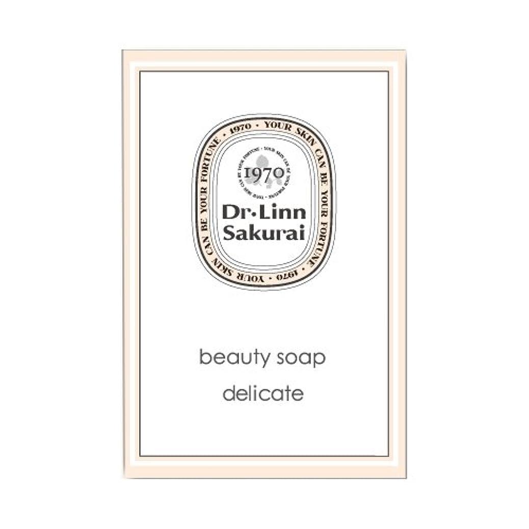 推測するマイナス致命的なドクターリンサクライ 洗顔石鹸 ビューティソープ デリケート (90g)
